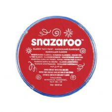 Snazaroo Classic Face Paint - Bright Red